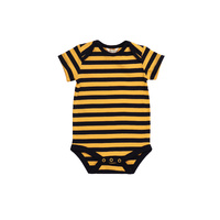 Organic KID Bee Bodysuit Short Sleeve