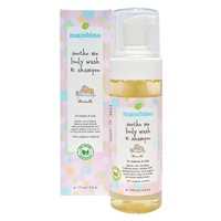 Mambino Organics Soothe Me Baby-Kids Body Wash & Shampoo, Made with Certified Organic
